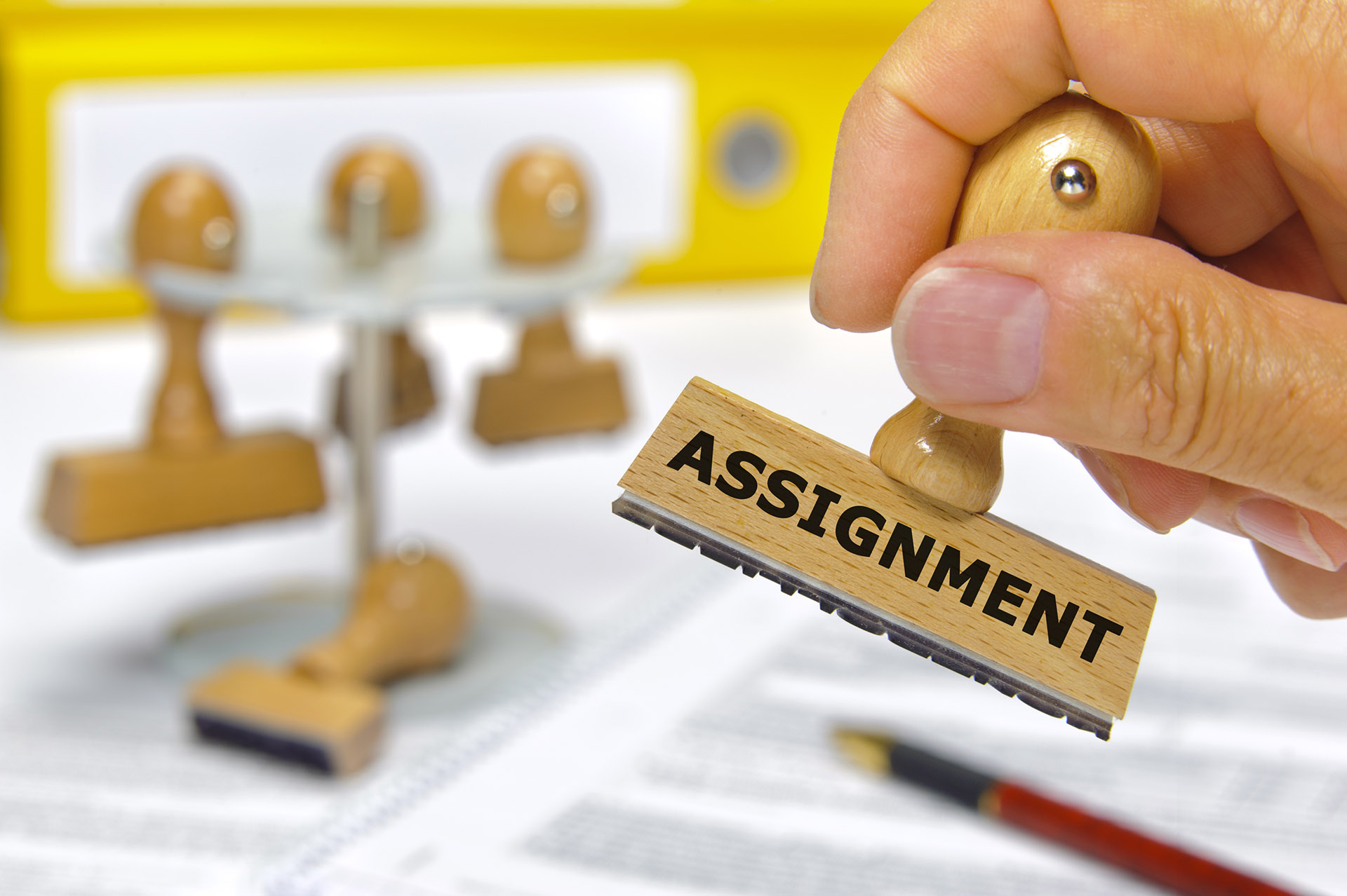 What is a patent assignment?