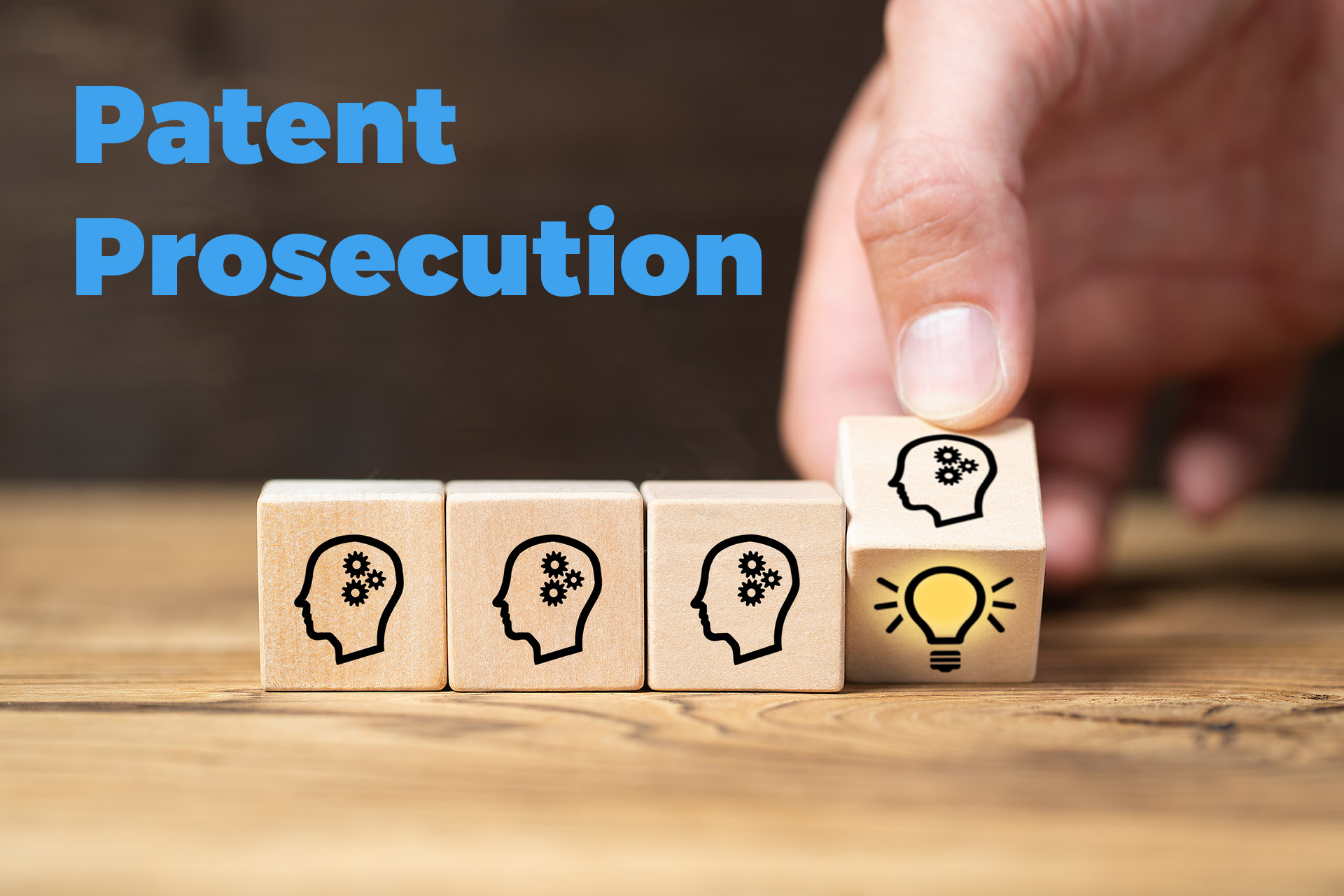 What is patent prosecution?