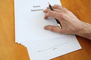 What are the parts of a patent application