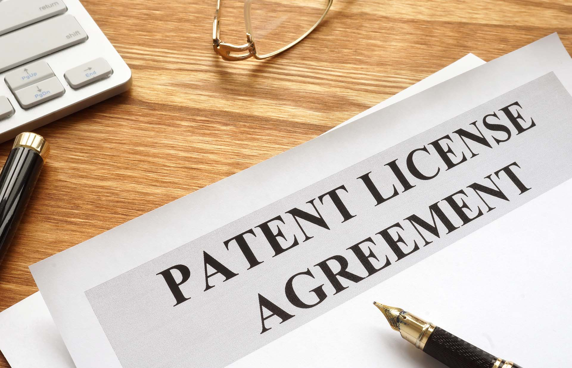 what is a patent license agreement